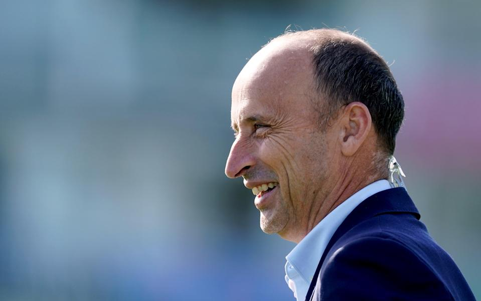 Nasser Hussain admitted he was concerned about the possibility that The Hundred could be affected by Covid (PA Archive)