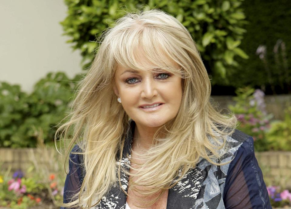 Bonnie Tyler has revealed she learnt to swim as an adult.  (SWNS)
