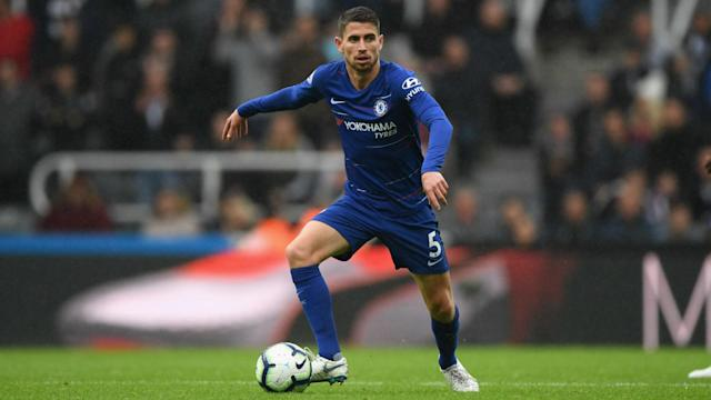 Jorginho is already enjoying life in Englan and it shows on the pitch