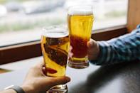 <p>Freezing beer accelerates the aging of it, meaning you're much more likely to open up a flat, hazy beverage after the fact. </p>
