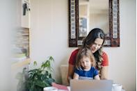"""<p>Working from home for a while? Make sure you have a little bit of an office setup, even if it's small. """"Swap your dining chair for an adjustable, ergonomic desk chair, and your table for either an adjustable height desk, or add risers to a standard table or desk,"""" <a href=""""https://jamiegold.net/"""" rel=""""nofollow noopener"""" target=""""_blank"""" data-ylk=""""slk:Jamie Gold, CKD, CAPS, MCCWC"""" class=""""link rapid-noclick-resp"""">Jamie Gold, CKD, CAPS, MCCWC</a>, wellness design consultant and the author of <em><a href=""""http://bit.ly/WellnessDesignBook"""" rel=""""nofollow noopener"""" target=""""_blank"""" data-ylk=""""slk:Wellness by Design: A Room-by-Room Guide to Optimizing Your Home for Health, Fitness and Happiness"""" class=""""link rapid-noclick-resp"""">Wellness by Design: A Room-by-Room Guide to Optimizing Your Home for Health, Fitness and Happiness</a>, </em>tells Woman's Day.<em> """"</em>The right chair will better support your body for the hours you'll be spending in it and the chance to do some of your work standing up will be better for your health overall."""" </p>"""