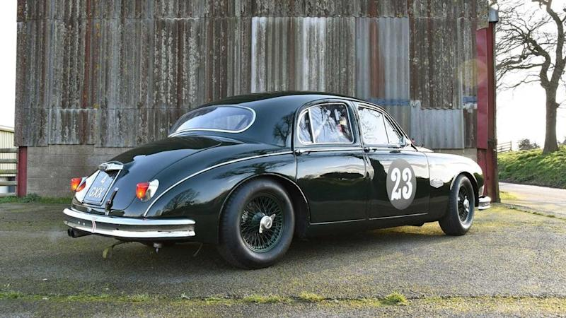 Race-ready 1959 Jaguar Mk1 could be yours