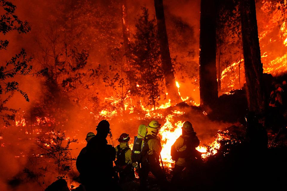 The higher temperatures have contributed to wildfires in California (Picture: Getty)