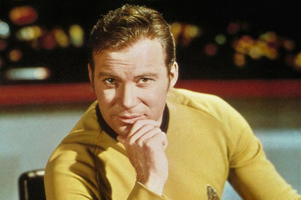 William Shatner famously played Captain Kirk in the sci-fi saga  (Paramount)