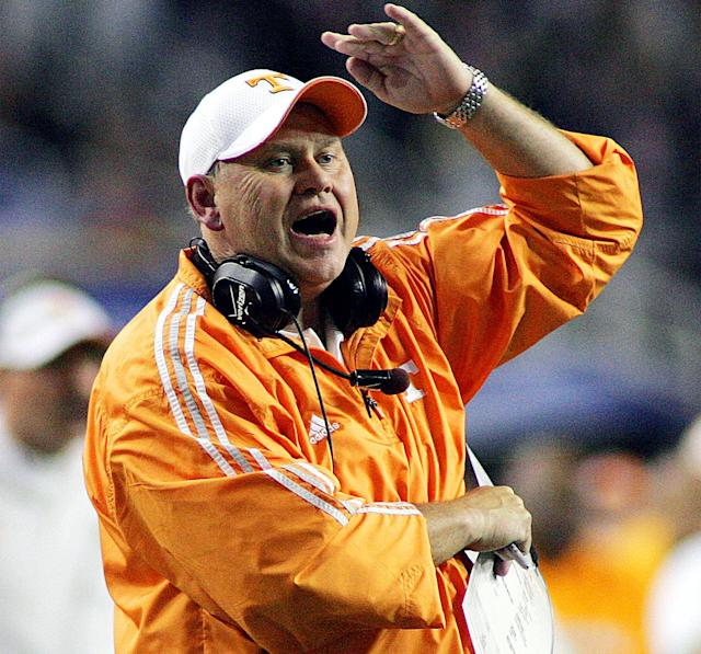 Former Tennessee coach Phil Fulmer is back at the school he coached to the 1998 national title (AP)