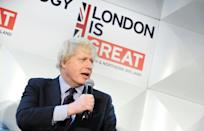 Boris Johnson back in 2015 when he was London mayor