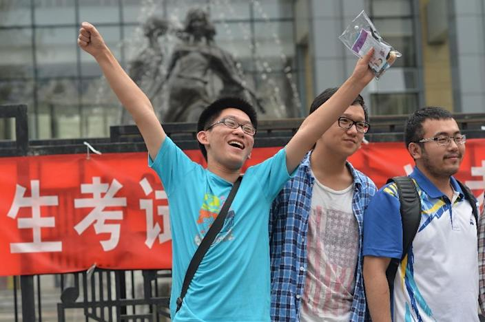 China's annual university entrance exam is a national obsession that decides the fate of millions (AFP Photo/-)