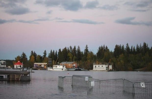 Great Slave Lake reached the highest water levels in its recorded history during the summer and fall of 2020, according to the government of Northwest Territories.
