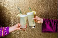 <p>This gin fizz gets a <em>major</em> flavor boost from rosemary simple syrup. </p><p>Get the recipe from Delish.</p>