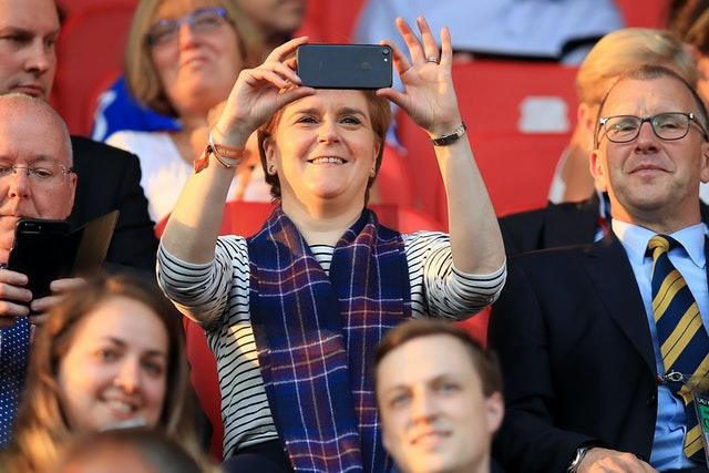 Nicola Sturgeon played down talk of a further six-month absence