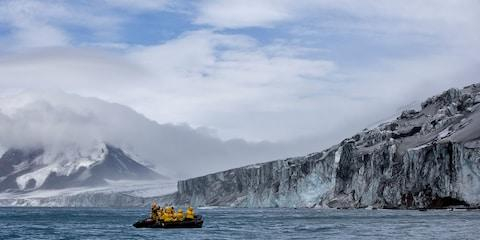 Don't expect easy access on an Antarctic cruise - Credit: GETTY