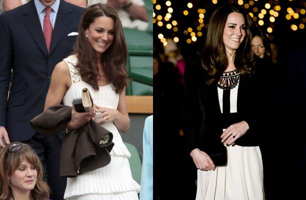 2dc200ab7897 Kate Middleton rewears Alice Temperley lace dress for University of ...