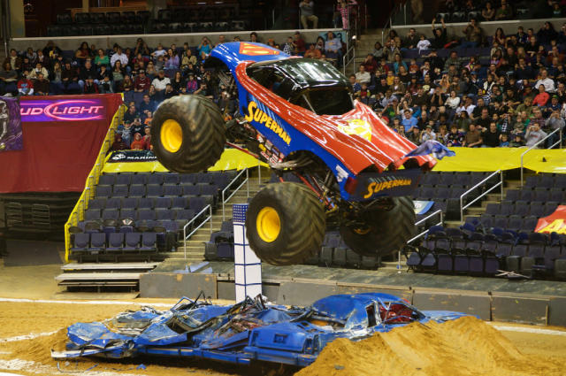 Who doesn't love monster trucks? (Image: Wikimedia Commons)
