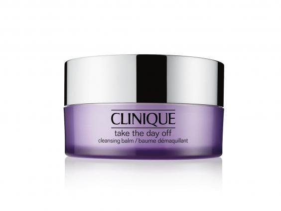 A rich cleansing balm will melt down into an oil once massaged into dry skin and remove makeup, dirt and grime at the end of the day (Clinique)