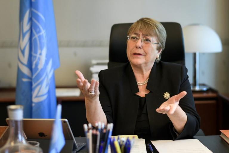 Michelle Bachelet is ranked among the world's most powerful women