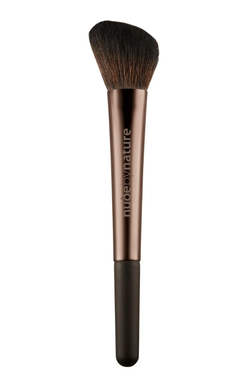 nude by nature Angled Blush Brush, $19.96