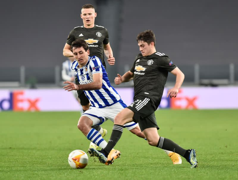 Europa League - Round of 32 First Leg - Real Sociedad v Manchester United