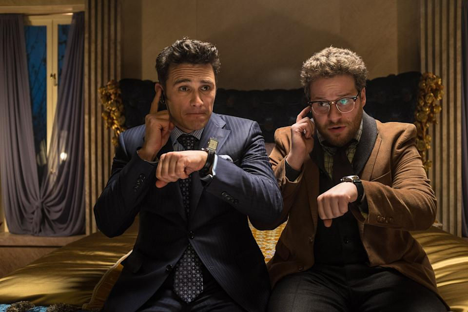 James Franco and Seth Rogen in the 2014 comedy The Interview (Photo: Ed Araquel/©Columbia Pictures/courtesy Everett Collection)