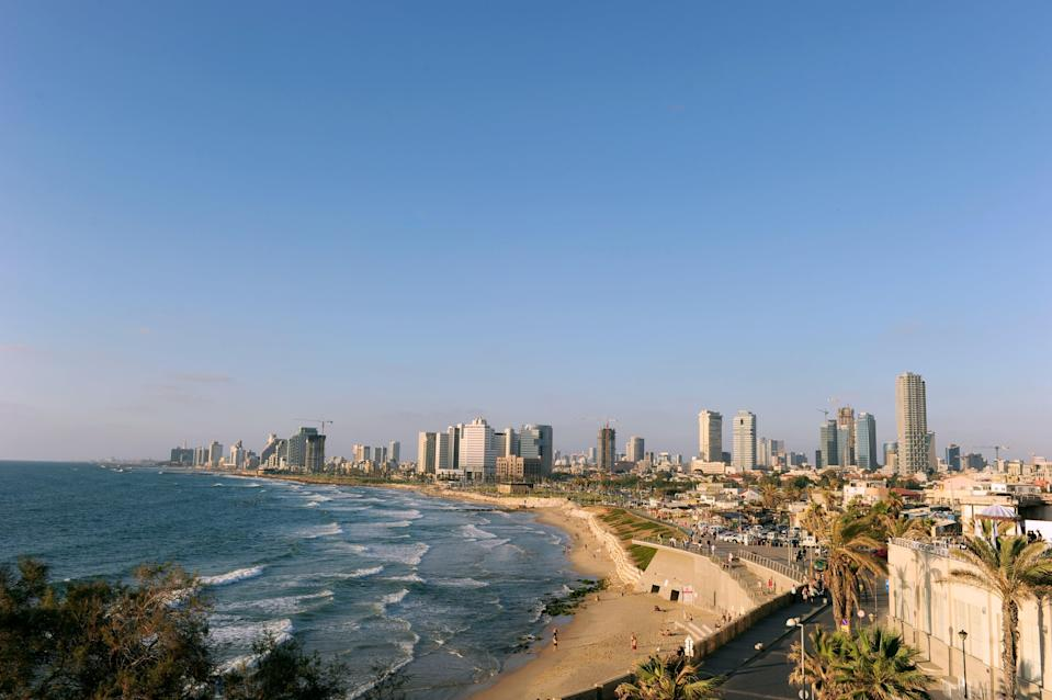 A general view of Tel Aviv (Adam Davy/PA) (PA Archive)