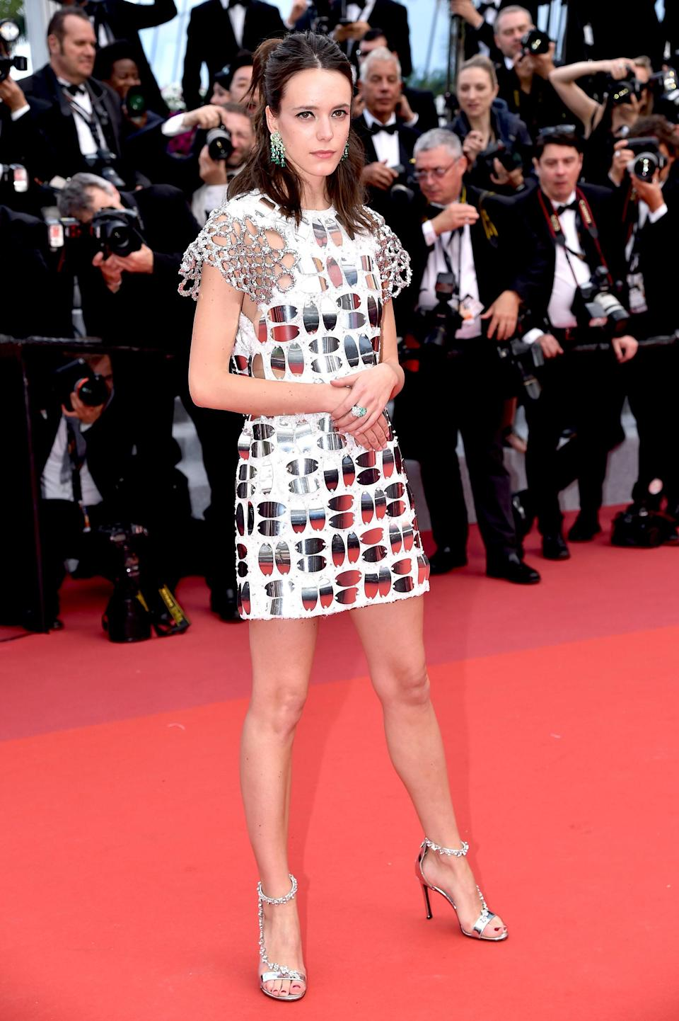 Stacy Martin in Louis Vuitton