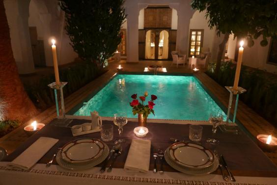 Follow a day in the Medina with a cooling dip at Riad El Mezaour (Adam Batterbee/Riad El Mezaour)