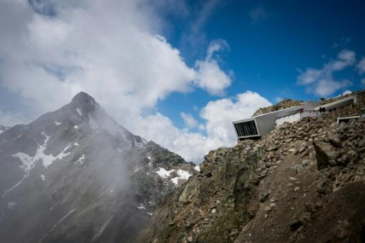 Part of the James Bond museum in the Austrian Alps was dug directly out of the rock
