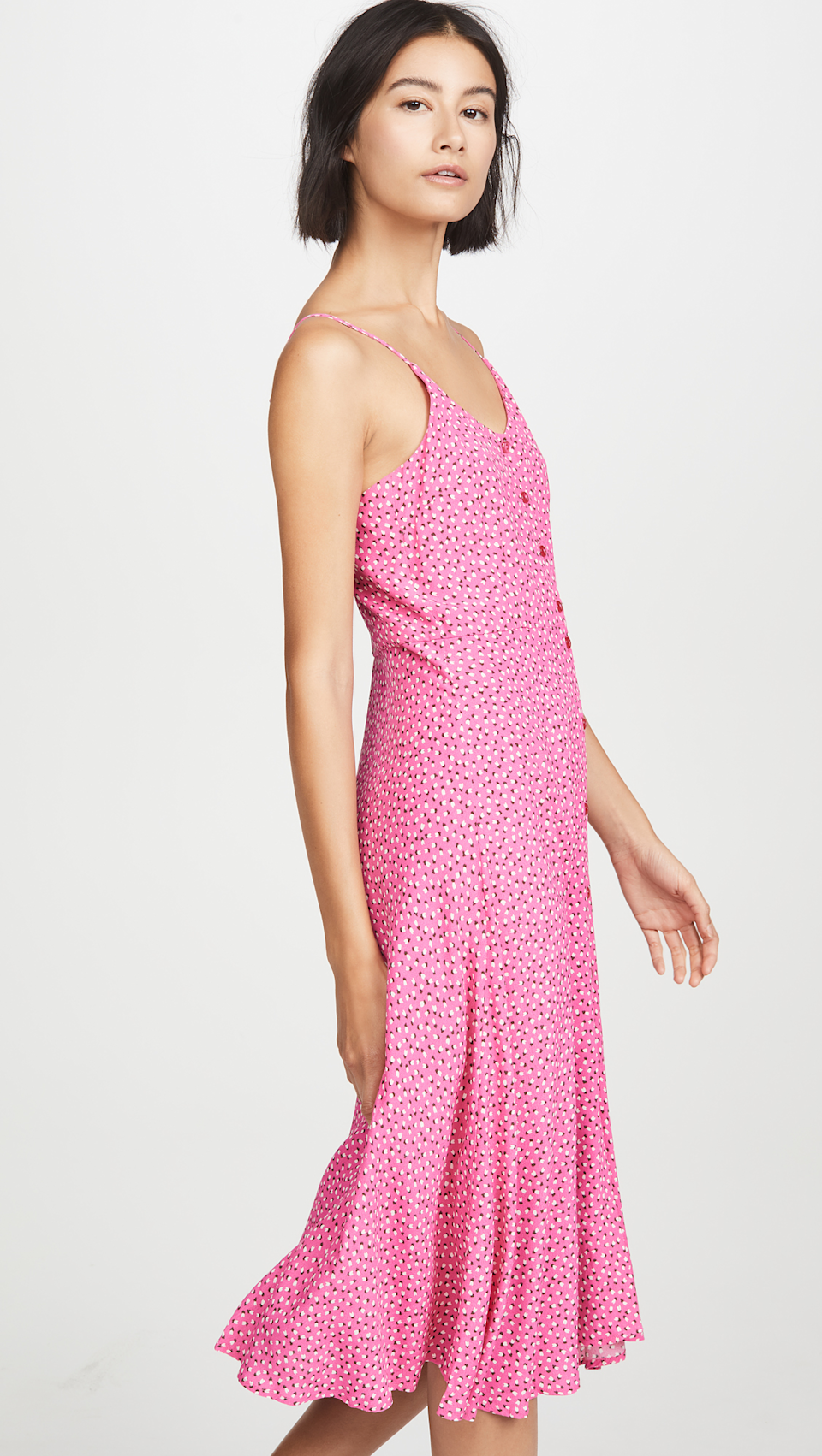 """Score <a href=""""https://www.shopbop.com/shop-category-sale-clothing-dresses/br/v=1/15412.htm"""" rel=""""nofollow noopener"""" target=""""_blank"""" data-ylk=""""slk:up to 60% off"""" class=""""link rapid-noclick-resp"""">up to 60% off</a> at Shopbop's summer kickoff sale. <br> <br> <strong>Rolla's</strong> Midsummer Mini Tulip Dress, $, available at <a href=""""https://go.skimresources.com/?id=30283X879131&url=https%3A%2F%2Fwww.shopbop.com%2Fmidsummer-mini-tulips-dress-rollas%2Fvp%2Fv%3D1%2F1571926434.htm%3F"""" rel=""""nofollow noopener"""" target=""""_blank"""" data-ylk=""""slk:Shopbop"""" class=""""link rapid-noclick-resp"""">Shopbop</a>"""