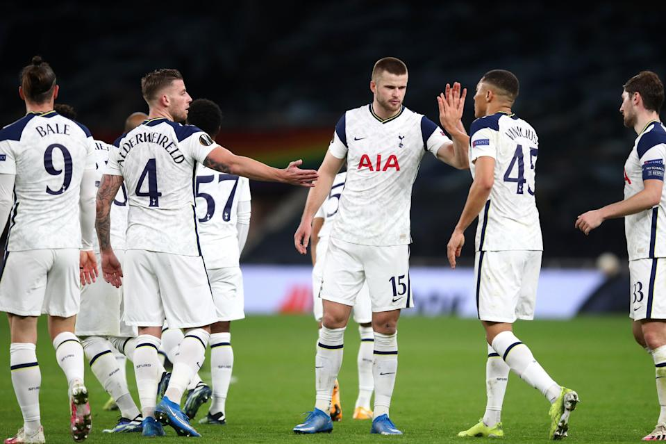<p>Tottenham easily beat Wolfsberger in the Europa League round of 32</p> (Getty Images)