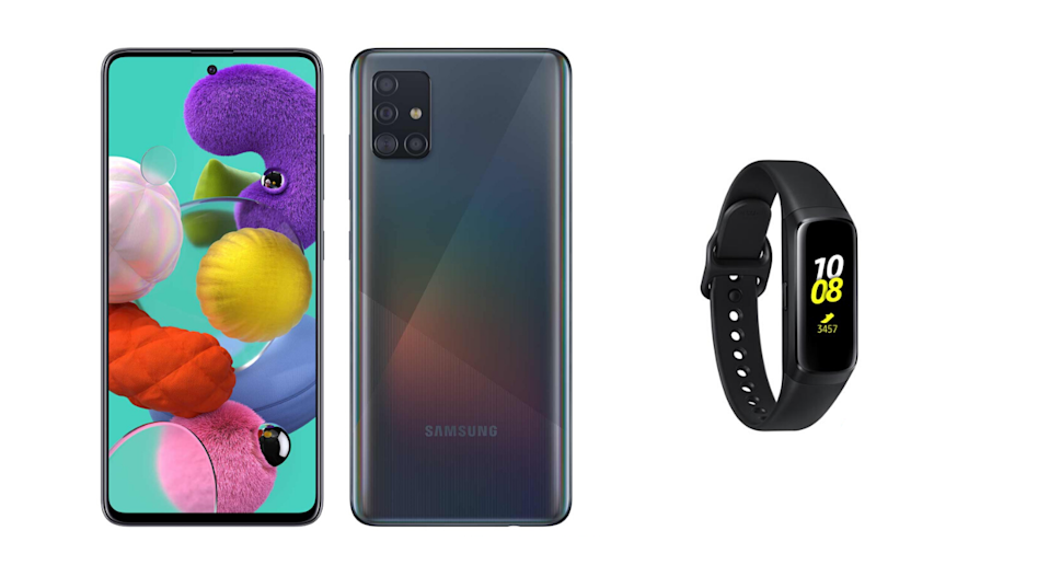 Samsung Galaxy A51 128 GB + Samsung Galaxy Fit