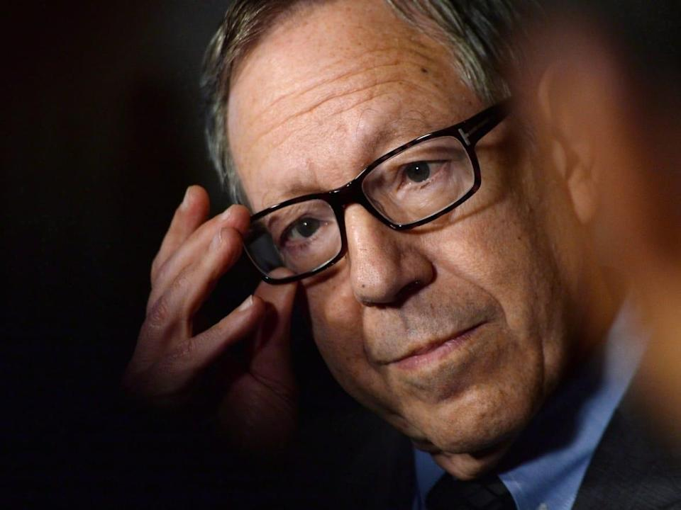 The government appointed former Liberal MP and Justice Minister Irwin Cotler as the special envoy for Holocaust remembrance and combatting antisemitism last year, and announced today that the role would become permanent and receive funding. (Sean Kilpatrick/The Canadian Press - image credit)