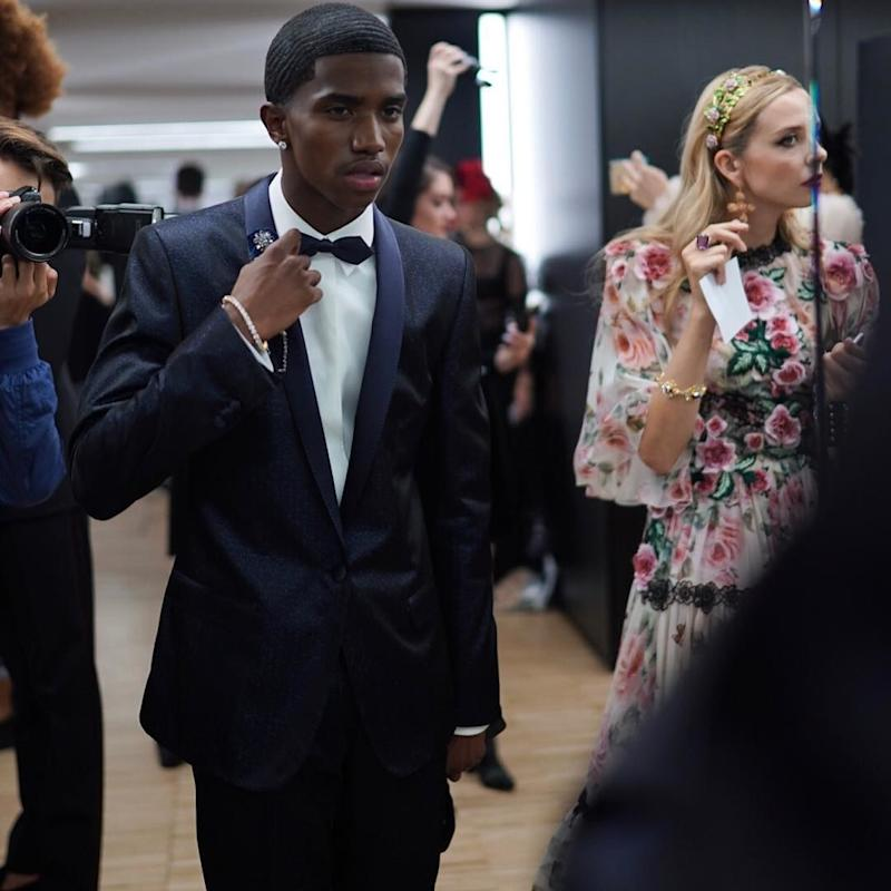 "Sean ""Diddy"" Combs's son Christian Combs was just one of the stampede of millennials—most of them the Instagram-famous offspring of genuinely famous individuals—who walked in Dolce & Gabbana's ""surprise"" Milan Fashion Week show, which took place the night before the brand's Spring 2018 runway."