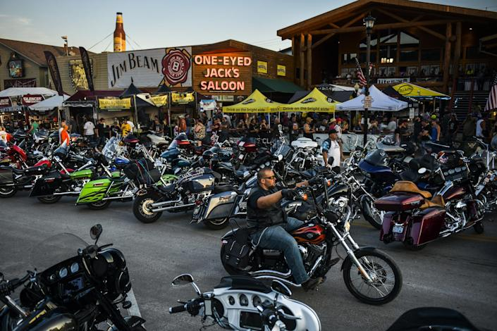 Image: Annual Sturgis Motorcycle Rally To Be Held Amid Coronavirus Pandemic (Michael Ciaglo / Getty Images)