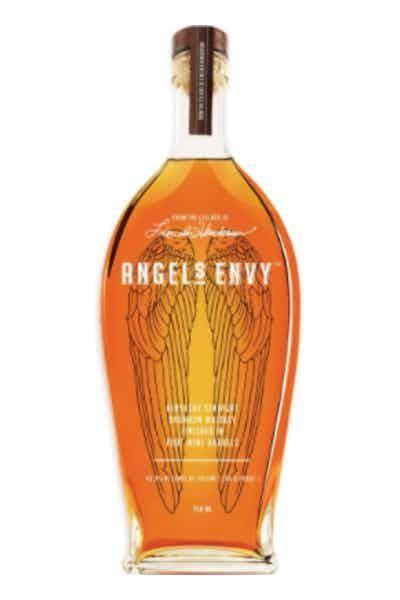 """<p><strong>Angel's Envy</strong></p><p>drizly.com</p><p><strong>$39.99</strong></p><p><a href=""""https://go.redirectingat.com?id=74968X1596630&url=https%3A%2F%2Fdrizly.com%2Fliquor%2Fwhiskey%2Fbourbon%2Fangels-envy-kentucky-straight-bourbon-whiskey%2Fp686&sref=https%3A%2F%2Fwww.cosmopolitan.com%2Ffood-cocktails%2Fg29021453%2Fbest-bourbon-brands%2F"""" rel=""""nofollow noopener"""" target=""""_blank"""" data-ylk=""""slk:Shop Now"""" class=""""link rapid-noclick-resp"""">Shop Now</a></p><p>If you can get your hands on a bottle of this stuff, you're v lucky. Made in small batches of only 8 to 12 barrels at a time, Angel's Envy is a rare find. But if you do get a chance to taste it, you'll love its notes of vanilla, maple syrup, ripe fruit, and bitter chocolate.</p>"""