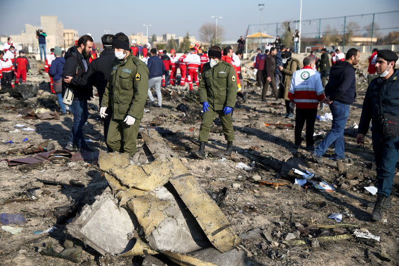Iran to send black boxes from downed Ukrainian airliner to Ukraine: minister