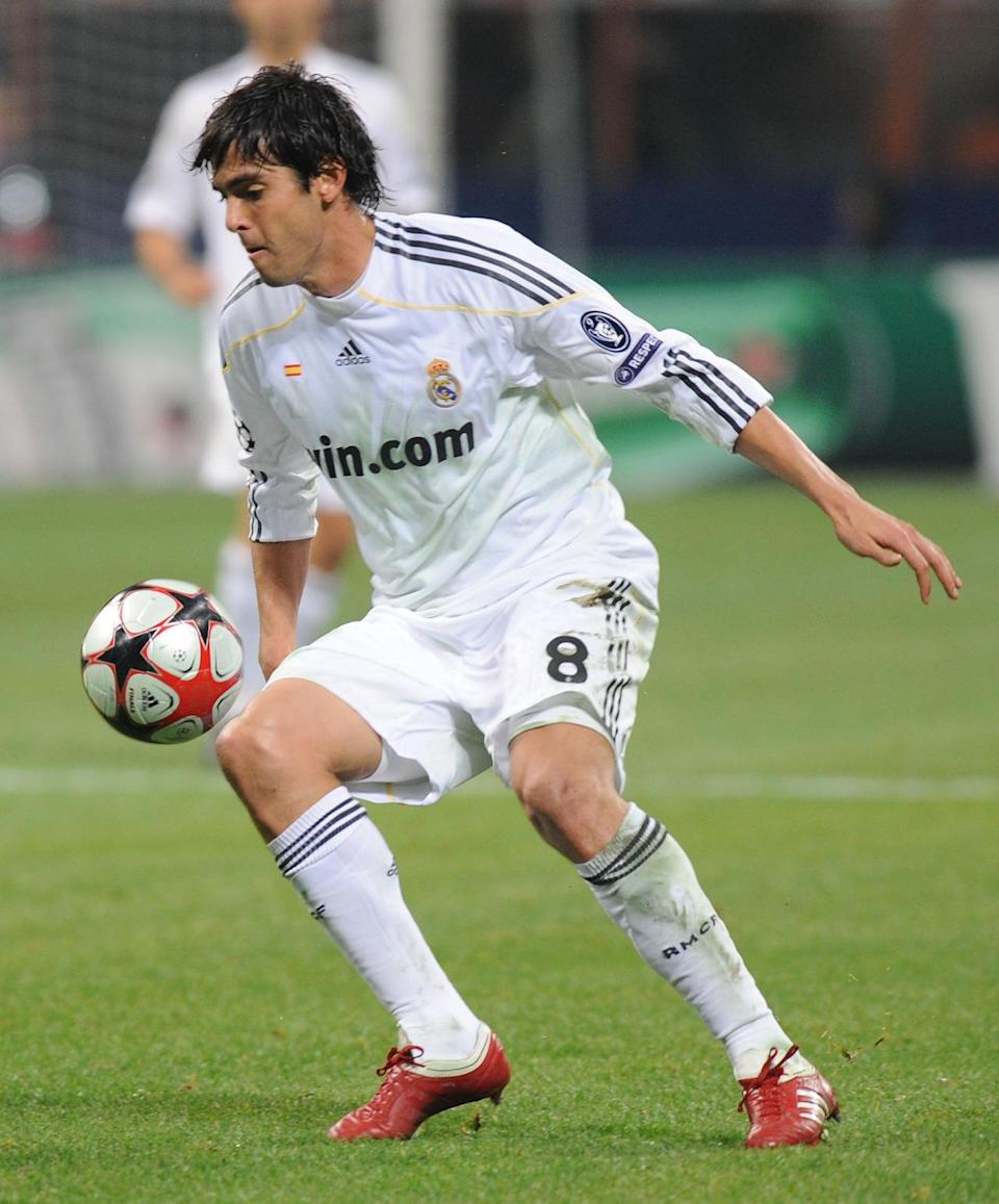 <p><b>Kaka</b><br><b>2009:</b> Milan to Real Madrid for £56m </p>
