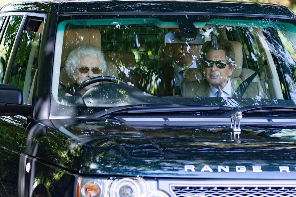 HRH The Queen Makes unannounced visit to Wood Farm and Commodore Yard Stables. The Queen flew in by helicopter on Friday evening and is expected to stay until Monday.