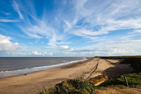 Happisburgh Beach - Credit: Getty