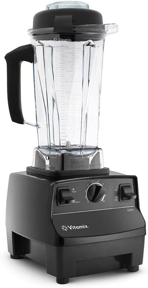 """<p>If you feel like splurging, do it with this <a href=""""https://www.popsugar.com/buy/Vitamix-Standard-Blender-580228?p_name=Vitamix%20Standard%20Blender&retailer=amazon.com&pid=580228&price=329&evar1=fit%3Aus&evar9=46866669&evar98=https%3A%2F%2Fwww.popsugar.com%2Ffitness%2Fphoto-gallery%2F46866669%2Fimage%2F46866729%2FFor-Smoothie-Lovers&list1=shopping%2Camazon%2Ckitchen%20tools%2Csmoothies&prop13=api&pdata=1"""" class=""""link rapid-noclick-resp"""" rel=""""nofollow noopener"""" target=""""_blank"""" data-ylk=""""slk:Vitamix Standard Blender"""">Vitamix Standard Blender</a> ($329). You can make just about anything in this high-powered machine.</p>"""