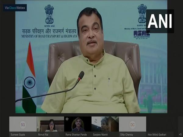 Minister for Road Transport and Highways and Micro, Small and Medium Enterprises, Nitin Gadkari (Photo/ANI)