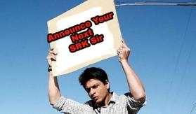 #WeWantAnnouncementSRK: Shah Rukh Khan fan threatens to commit suicide if he doesn't announce his next by New Year's eve