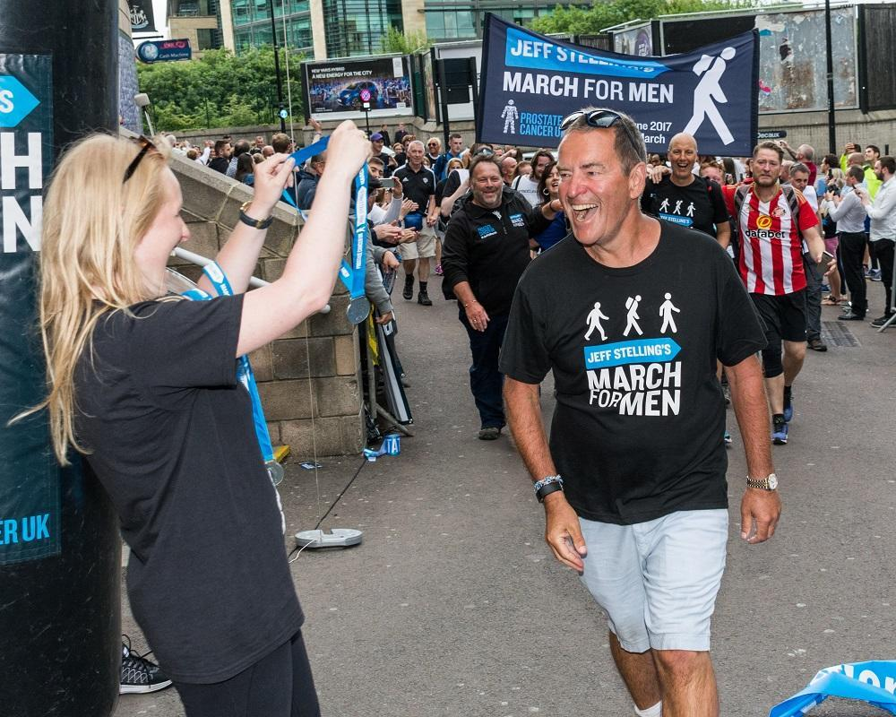 Jeff Stelling on his March for Men