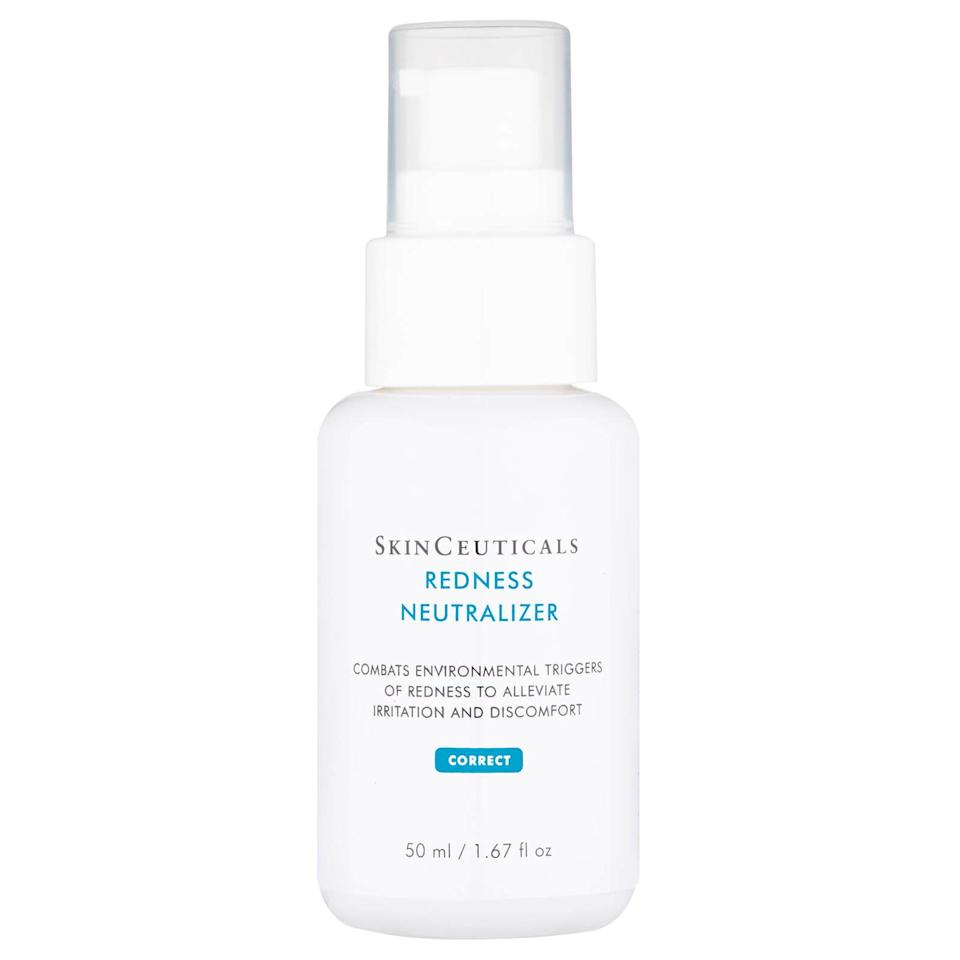 "<p><a class=""body-btn-link"" href=""https://go.redirectingat.com?id=127X1599956&url=https%3A%2F%2Fwww.lookfantastic.com%2Fskinceuticals-redness-neutralizer-50ml%2F11705717.html&sref=http%3A%2F%2Fwww.elle.com%2Fuk%2Fbeauty%2Fskin%2Farticles%2Fg31454%2Fface-cream-and-moisturisers-for-oily-skin%2F"" target=""_blank"">SHOP NOW</a></p><p>For those alarmingly red spots that no concealer can cancel out, reach for this moisturising corrector. The cocktail of peptides and natural plant ingredients are a match made in heaven for those that suffer from rosacea-induced spots. Once applied skin will feel as soothed as dunking your face in a bucket of ice, minus the getting a chill part.</p>"