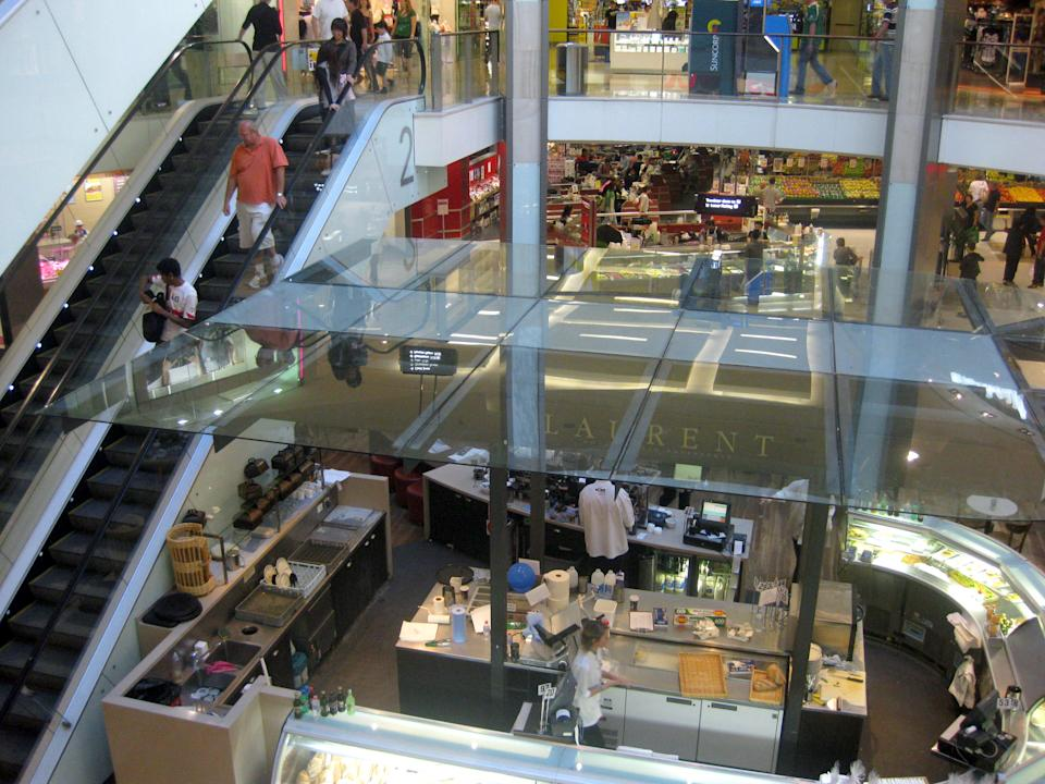 fFile photo of Westfield shopping centre in Bondi Junction, Sydney. Source: AAP