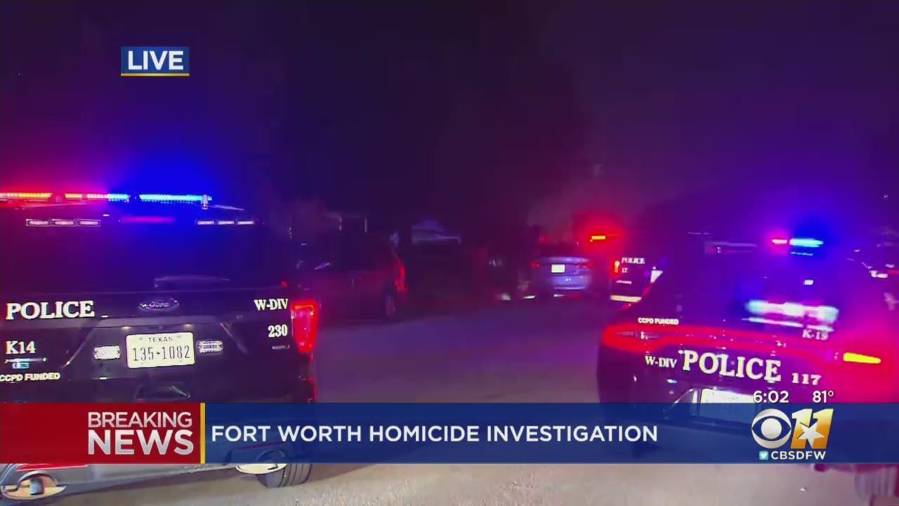 Police Investigating Homicide At Home In West Fort Worth [Video]