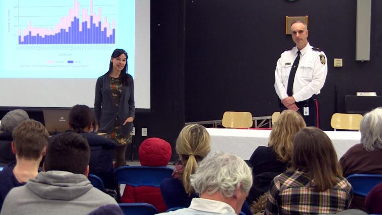 'Cheap to make, easy to move': Forum hears about dangers, challenges of meth