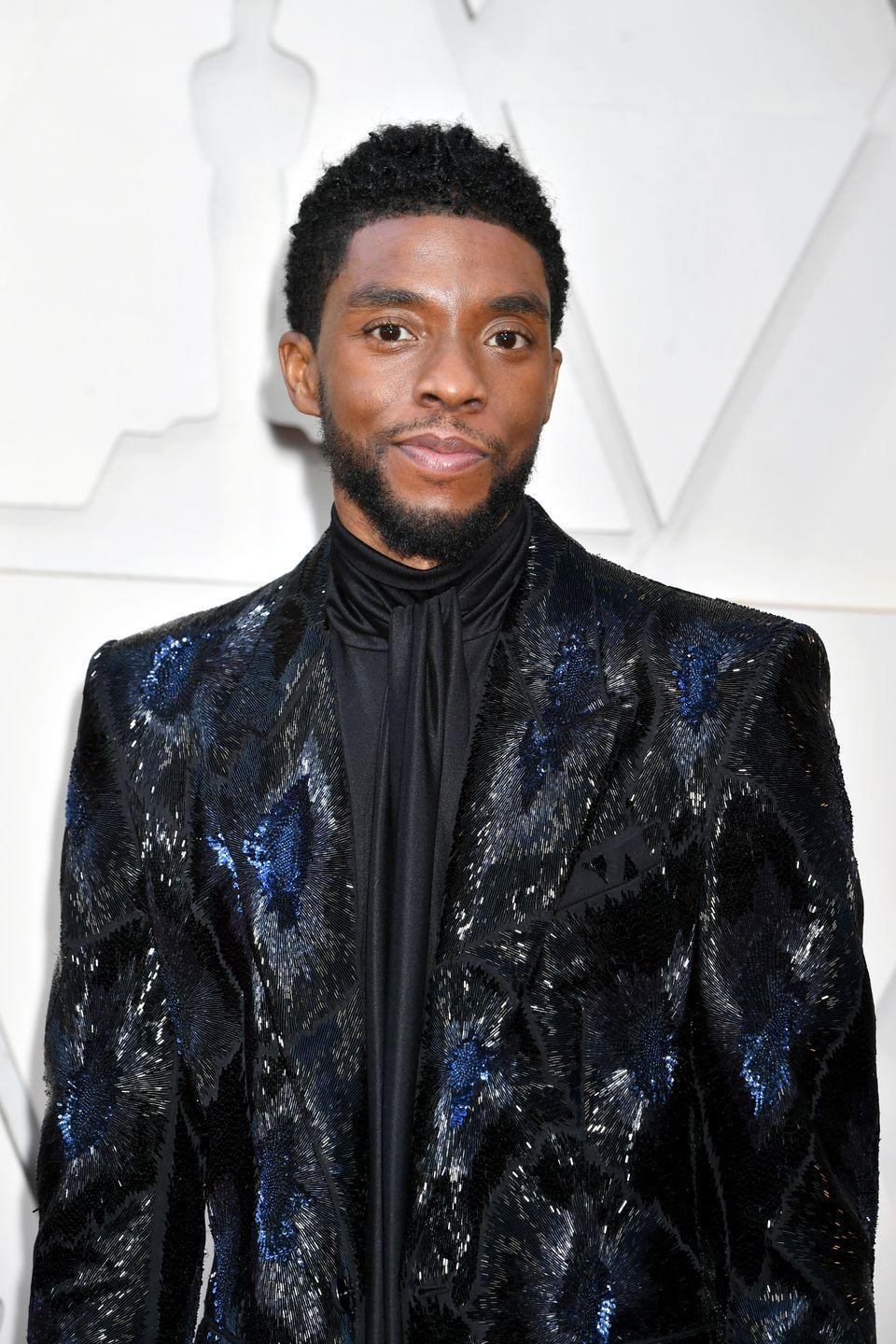 """<p><strong>The role: </strong><a href=""""https://ew.com/movies/2019/11/20/black-panther-chadwick-boseman-drax-audition/"""" rel=""""nofollow noopener"""" target=""""_blank"""" data-ylk=""""slk:Drax the Destroyer"""" class=""""link rapid-noclick-resp"""">Drax the Destroyer</a> in<em> Guardians of the Galaxy</em> </p><p><strong>Who *actually* played it:</strong> Dave Bautista</p><p><strong>The role they played instead: </strong>T'Challa in <em>Black Panther</em></p><p>Boseman said that after getting turned down for the role of Drax, the Marvel Studios casting director, Sarah Finn, said she kept him in mind when it came time to cast the <em>Black Panther</em> lead.</p>"""