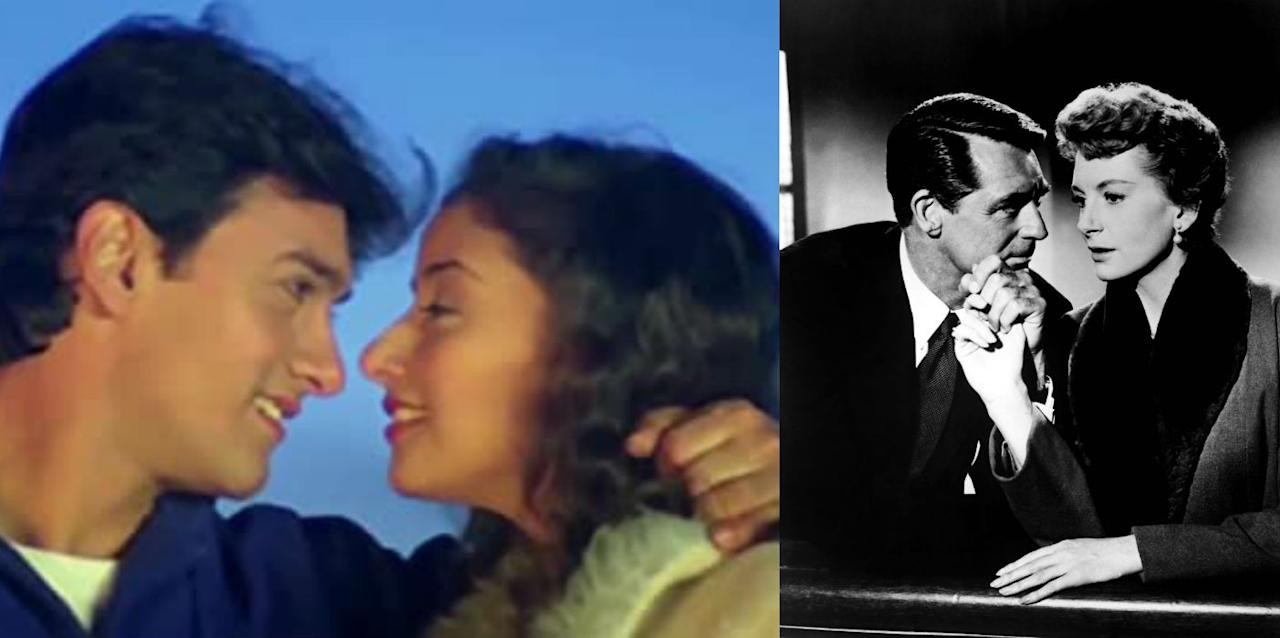 Aamir Khan and Manisha Koirala's super romantic film directed by Indra Kumar was based on the Hollywood film An Affair To Remember. Mann, however, is an indigenous version of the latter, improvised with a climax scene different from the original movie. Two people, who are engaged to someone else, meet on a cruise and fall in love. They then decide to meet at a pre-determined location six months later. However, a mishap changes the course of the story. While the 1957 film, starring Cary Grant and Deborah Kerr, ended vaguely, the Indian version gave a lot more backstory to the characters.
