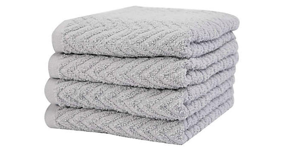 Simply Essential Cotton Hand Towels (Photo: Bed Bath & Beyond)