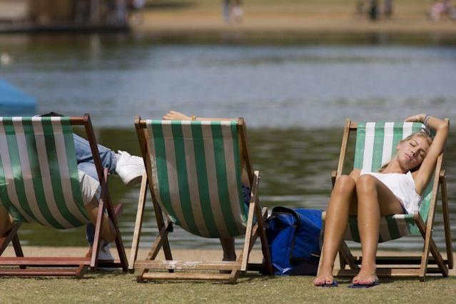 A new study confirms that a heatwave will make you less friendly. (Photo: Getty)
