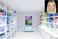 """<strong>Make It Easier for Kids to Clean Up</strong> Encourage good habits by organizing kids' spaces in a way that's easy to understand and keep up with. """"Arranging books in rainbow order serves as a simple instruction for putting things back where you found them. Plus it makes a room look fabulous and polished,"""" says <a href=""""https://www.instagram.com/cleashearer/"""" rel=""""nofollow noopener"""" target=""""_blank"""" data-ylk=""""slk:Clea Shearer"""" class=""""link rapid-noclick-resp"""">Clea Shearer</a>, who designed Gwyneth Paltrow's kid cave — which is outfitted with closed storage cabinets for those days when the system breaks down."""